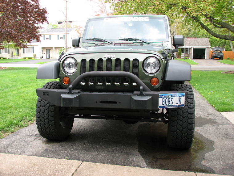 What Color Shud I Paint My Bumper? - Jeep Wrangler Forum