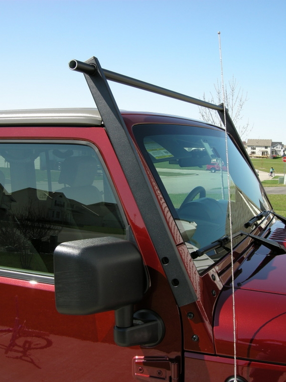 Got My Canoe Rack Done Jk Forum Com The Top