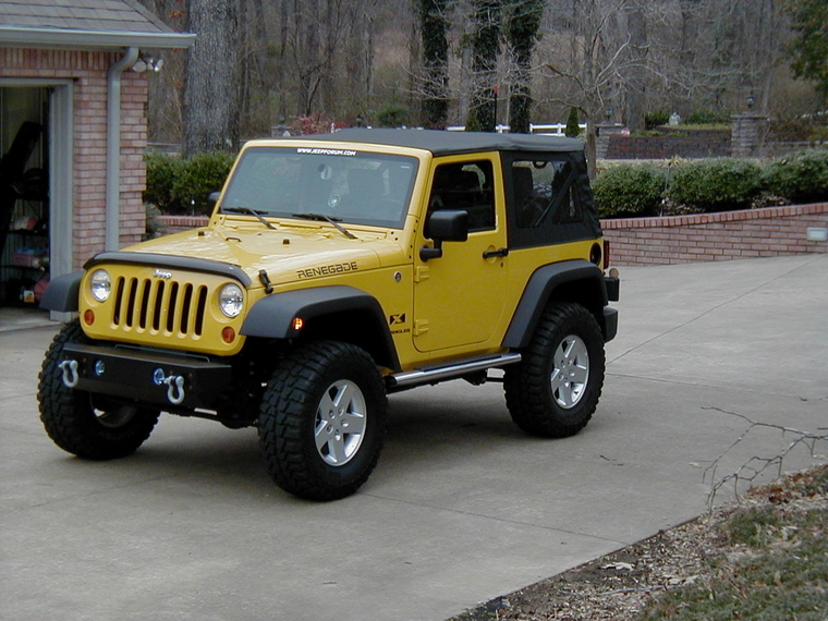 Yellow 2drs On 35s Or 37s Jeepforum Com