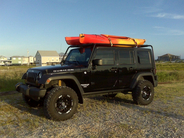Mi Je How To Carry Kayaks On A Jeep