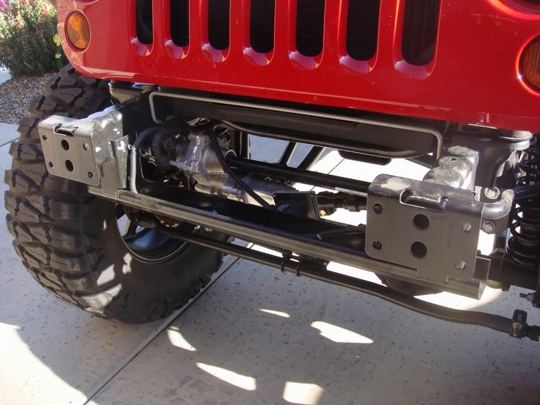 Smittybilt XRC Front Bumper Install wHID lights JKForumcom