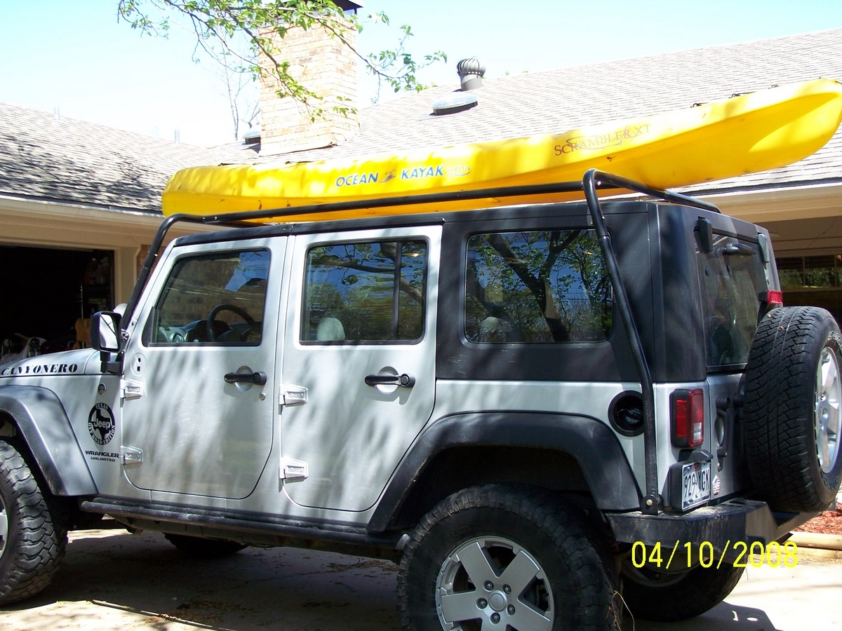 Roof Rack For Freedom Top To Carry Kayaks Page 3 Jk