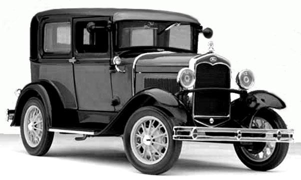 1931_Model_A_Ford_black