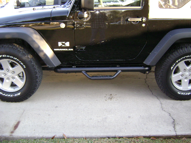 Installed Some N Fab Nerf Bars Jk Forum Com The Top