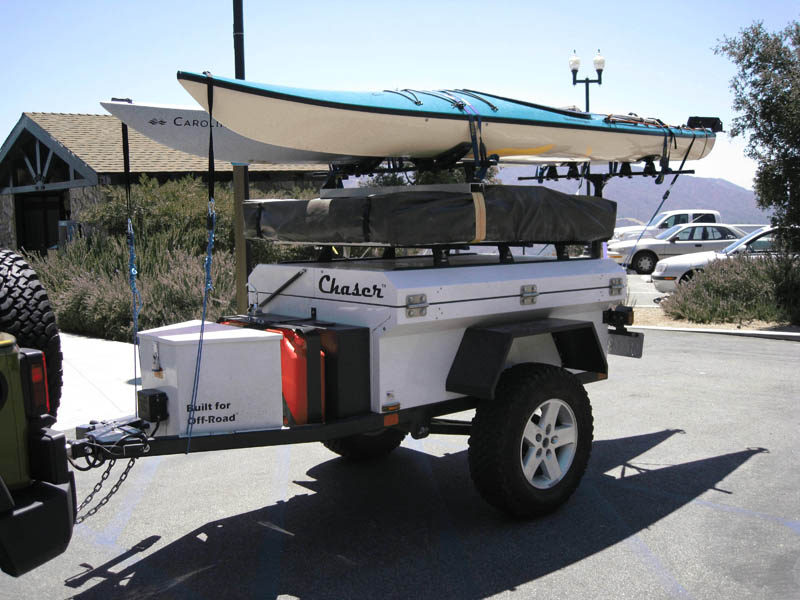 Hauling Kayaks TRAILERS