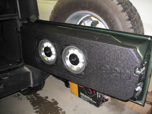 Best Way To Install And Place Amp N Sub Jeepforum Com