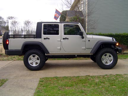 Would You Buy THIS 4 Door JK Truck? How Much Would The Modification Be  Worth?