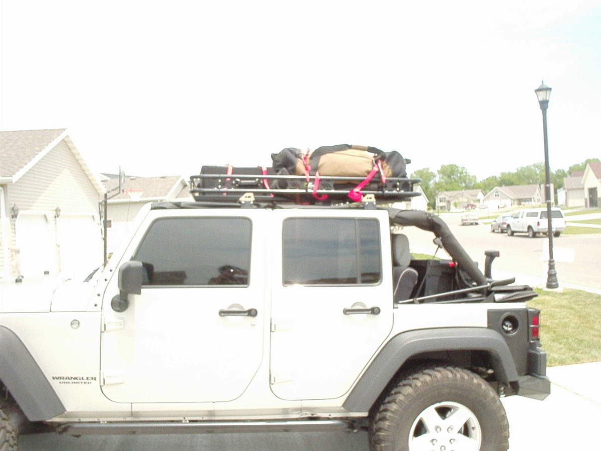 Here Are Some Pics Of The Kargo Master Roof Rack That I Installed.