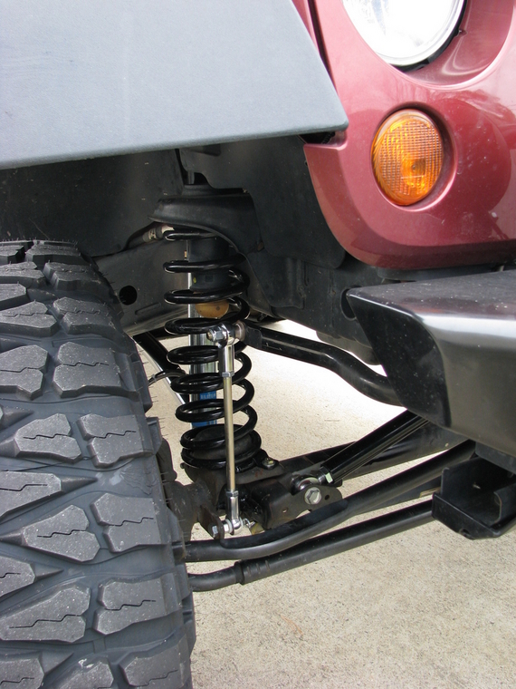 Two Door Rockkrawler 3 5 Quot Long Arm Kit Installed Jk