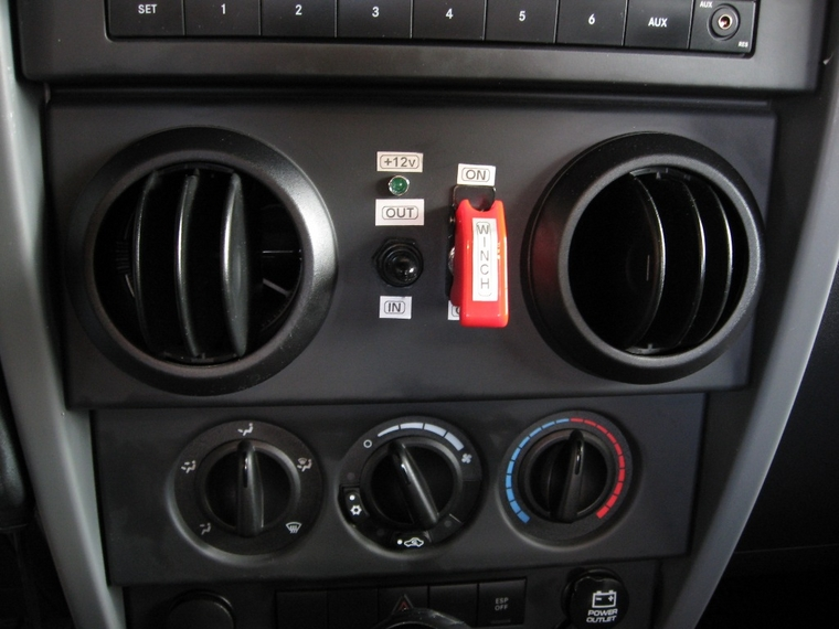 In Dash Winch Control - JK-Forum.com - The top destination for Jeep ...