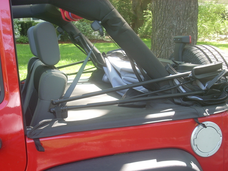 Waterproof Rear Storage With Tuffy Lid Jk Forum Com