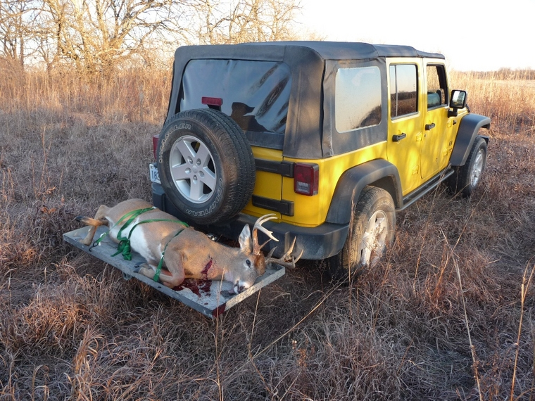 Deer Hunting With A Jeep