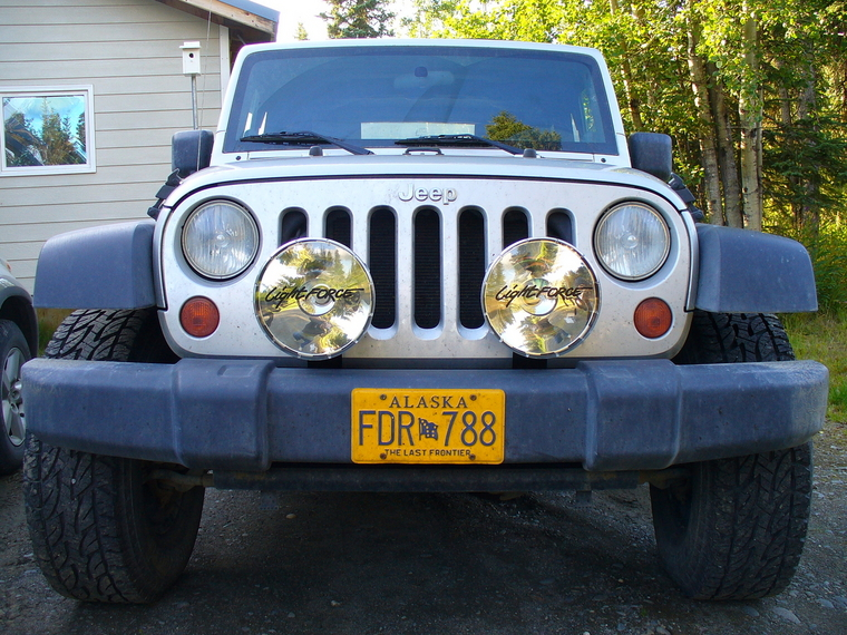 Rumors Bar And Grill >> lights mounted to factory bumper - JK-Forum.com - The top destination for Jeep JK Wrangler news ...