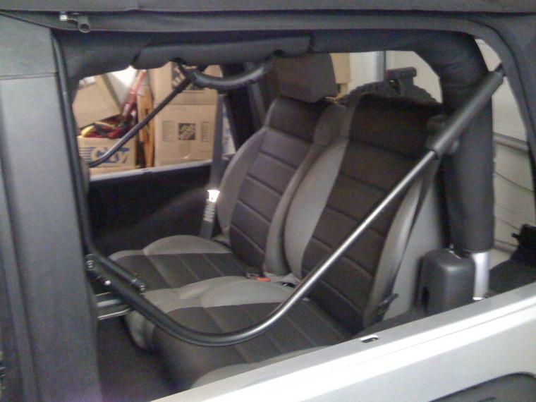 2 Door Custom Rear Seat Bucket Replacing Bench Jk