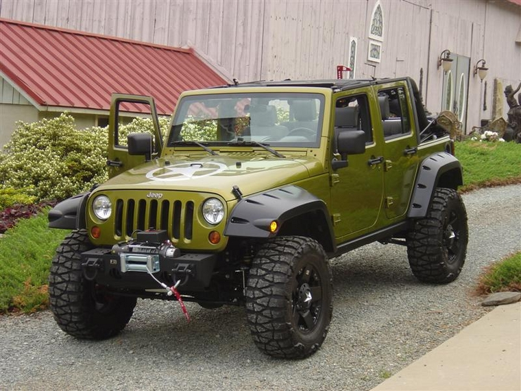 Bushwacker Pocket Style Fender Flares - JK-Forum.com - The ...