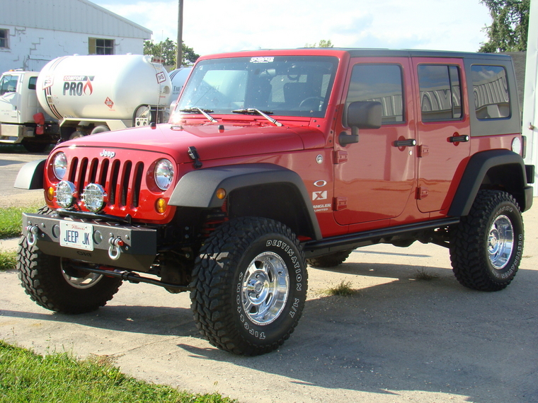 Jeep Wrangler 4 Door Lifted. Jeep Wrangler Lifted