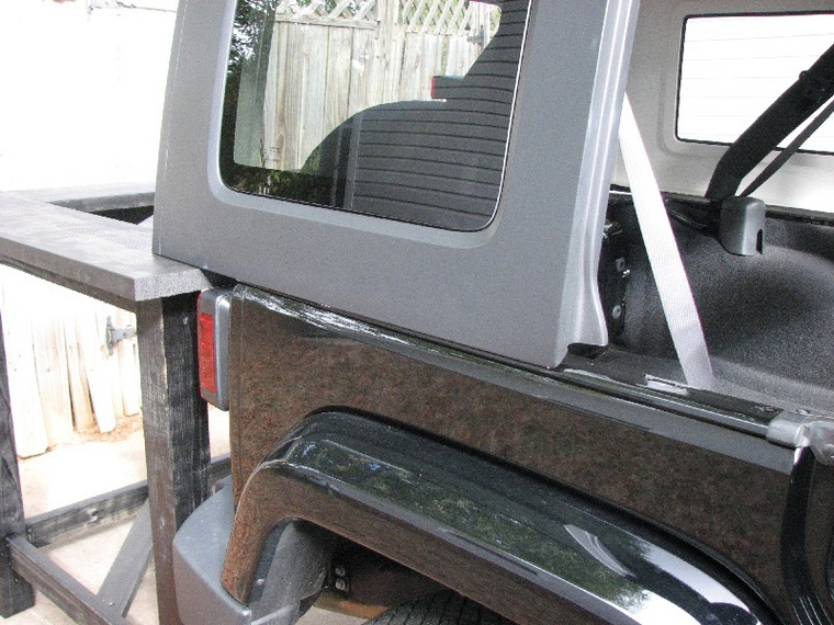 Hard Top Removal Alone