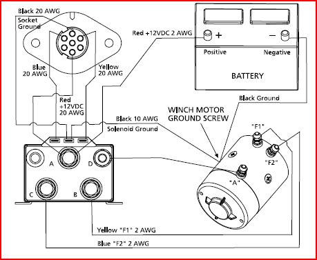 Warn 1700 Winch Wiring Diagram - Wiring Diagram Verified Warn A Wiring Diagram on