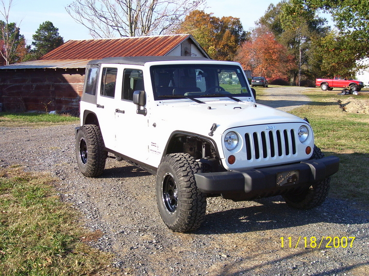 Jeep Kj Without Fenders