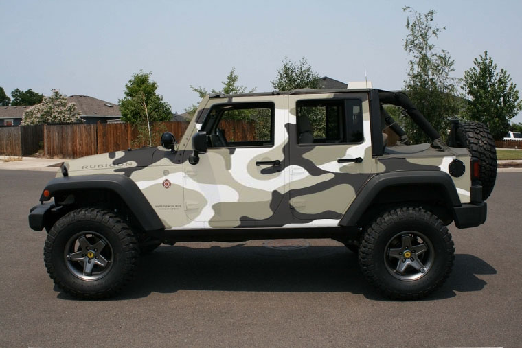 White Camo Jeep : Arctic camo paint job look jeep patriot forums