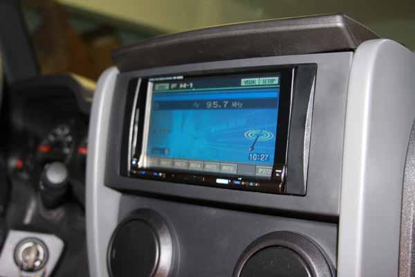 Alpine IVA-W205 Stereo Head Unit install - JKowners.com ... on