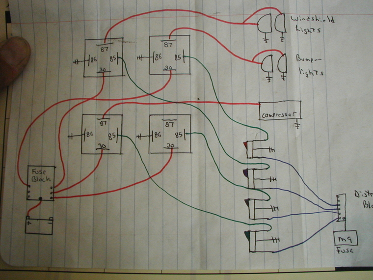 Wiring 3 Pairs Of Lights - Page 2 - Jk-forum Com