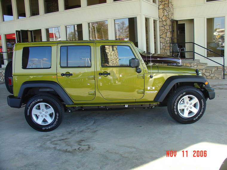 My Project JK Rescue Green Hard Top Powered by