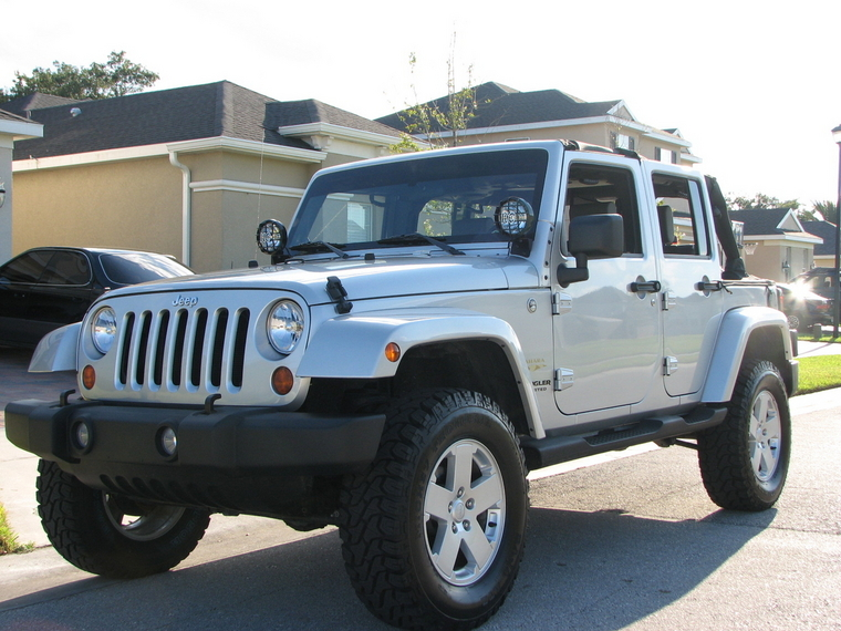 Jeep Jk Led Headlights ... lift - Need advice for budge wheels and tire - Jeep Wrangler Forum