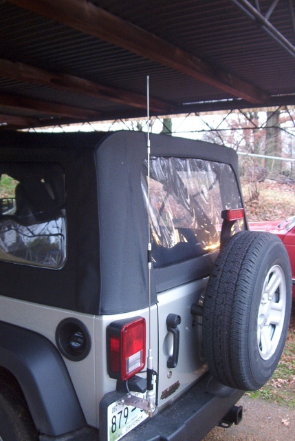 A Better Antenna Mount Jk Forum Com The Top Destination For Jeep