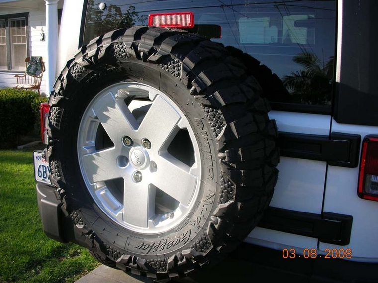 33x12 5x18 Nitto Mud Grapplers Jk Forum Com The Top Destination