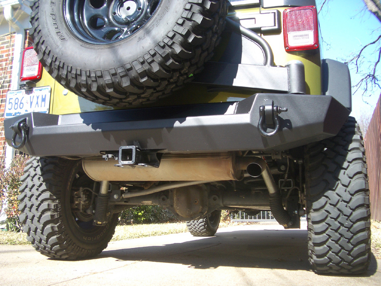 Expedition One Trail Series Rear Bumper w Tire Carrier