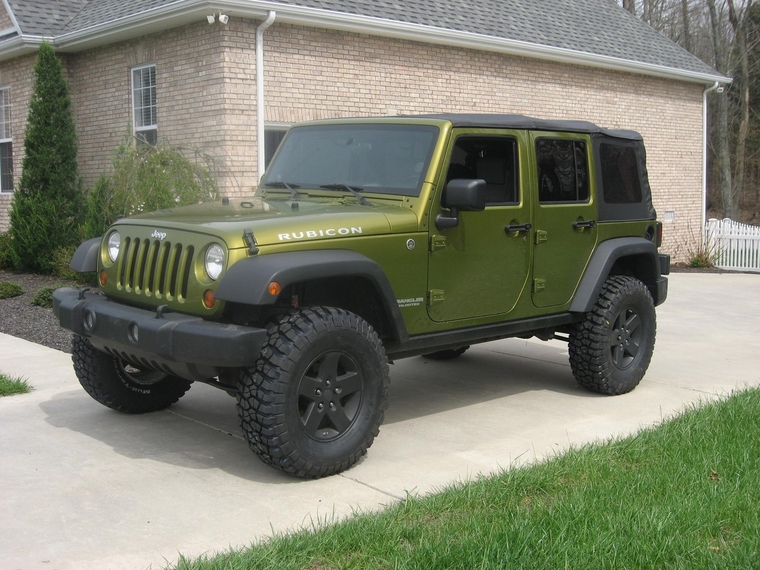 Rescue Green Jeep Wrangler >> 35's With Stock Wheels Post Em' Here Page: Need Help Wiring Harness Is Junk Jeepforum At Eklablog.co